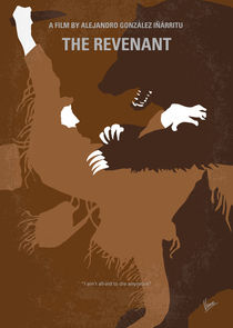 No623 My The Revenant minimal movie poster by chungkong