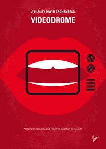 No626 My Videodrome minimal movie poster by chungkong