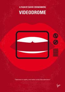No626 My Videodrome minimal movie poster von chungkong