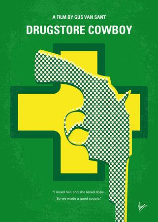 No628-my-drugstore-cowboy-minimal-movie-poster