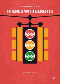 No629 My Friends with benefits minimal movie poster by chungkong