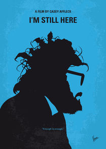 No637 My I am Still Here minimal movie poster von chungkong