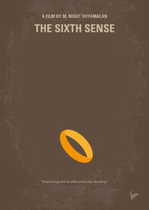 No638 My The Sixth Sense minimal movie poster von chungkong