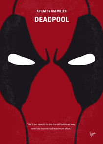 No639 My Deadpool minimal movie poster von chungkong