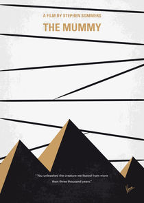 No642 My The Mummy minimal movie poster von chungkong