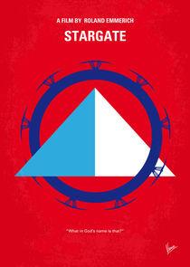 No644 My STARGATE minimal movie poster by chungkong