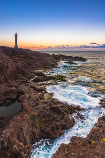 Sunset at Faro de Sardina, Gran Canaria by Moritz Wicklein