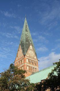 St. Johannis - Kirsche in Lüneburg by Anja  Bagunk