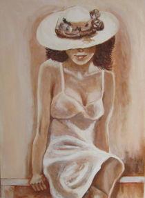 Frau im Sommerkleid by rita-markgraefe