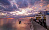 'Sonnenuntergang am Bodensee' von Christian Möhrle