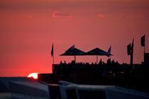 Sonnenuntergang am Beachclub von Michael Bürger