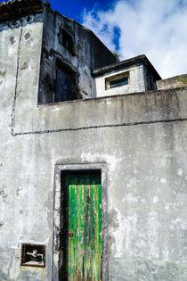 Old House with green Door von viva-imago