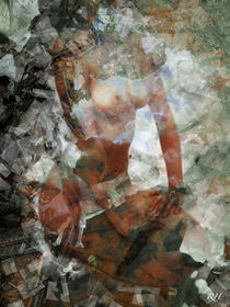 GEOMETRIC X by Rosemarie Hofer