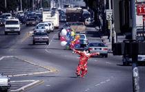 Clown Santa Monica Boulevard von Ulli Skoruppa