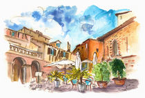 Lovely Street Cafe In Albi by Miki de Goodaboom
