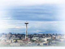 The Needle in Seattle WA von Gena Weiser