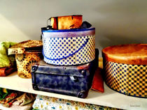 Vintage Hat Boxes by Susan Savad