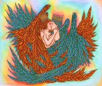 Rainbow Prince And Princess Angels von Kent Chua