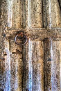 Ancient Church Door by David Pyatt