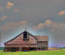 Textured - Grey Barn by Gena Weiser
