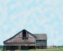Grey Barn by Gena Weiser