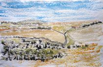 Monegros-Halbwüste( Aragon) by Gerhard Stolpa