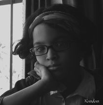 Serious Portrait by Nandan Nagwekar
