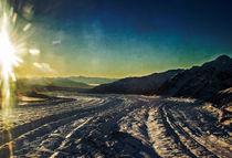 Down the Kennicott Glacier by Fredrick Denner