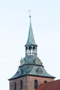Der Kirchturm von St. Michaelis in Lüneburg by Anja  Bagunk