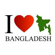 I love Bangladesh with map  by Shawlin Mohd