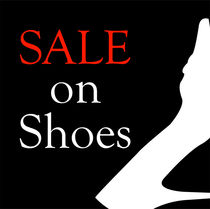 Sale on shoes with shoe von Shawlin Mohd