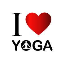 I love yoga von Shawlin I