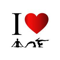 I love yoga and meditation  von Shawlin Mohd