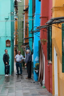 BURANO, after the rain /1 by Matthias  Lauterer