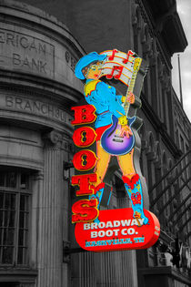 Broadway Boots  by Rob Hawkins