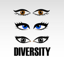 Eyes of women showing diversity  von Shawlin Mohd