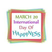 Day of Happiness- Commemorative Day March 20 von Shawlin Mohd