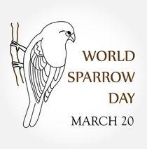 world sparrow day- March 20  von Shawlin Mohd