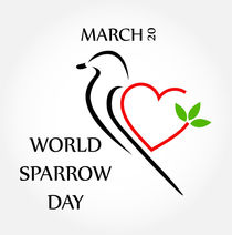 World sparrow day March 20  by Shawlin Mohd