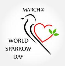 World sparrow day March 20  by Shawlin Mohd