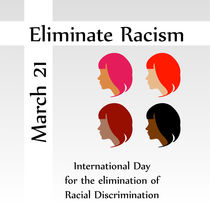 March 21 eliminate racism day  von Shawlin Mohd