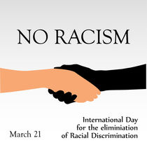 International day for the elimination of Racism- March 21  von Shawlin Mohd