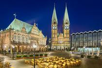 Bremen At Night von Michael Abid