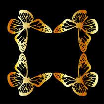 Golden butterfly  von Shawlin Mohd