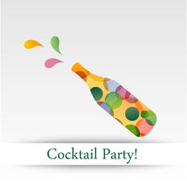 Colorful cocktail party von Shawlin Mohd