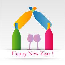 happy new year  von Shawlin Mohd