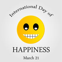 International Day of Happiness- Commemorative Day  by Shawlin Mohd