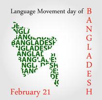 Language Movement day of Bangladesh on February 21 von Shawlin Mohd