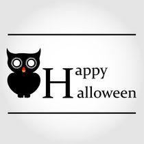 Owl Happy Halloween by Shawlin Mohd