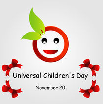 Universal Childrens day- November 20  by Shawlin Mohd